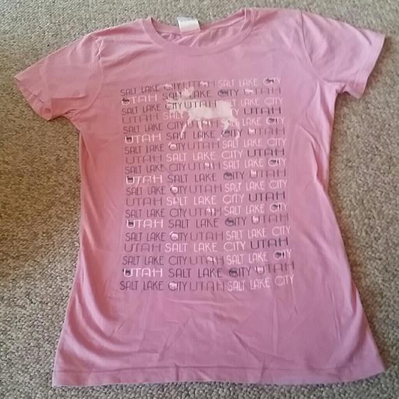 Genuine Tops - Utah Pink Tshirt